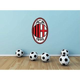A.C. Milan FC Italy Europe Soccer Football Sport Home Decor Art Wall Vinyl Sticker 63 x 38 cm