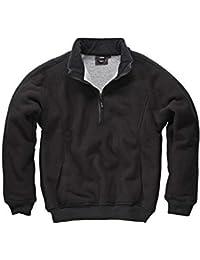 Dickies EH89000 Warm Sherpa Lining Mens Eisenhower Fleece Pullover Jumper Top Jacket New Simple Work Side handwarmer pockets