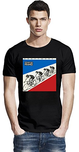 Camiseta Kraftwerk Tour De France Raw Edge T-shirt X-Large
