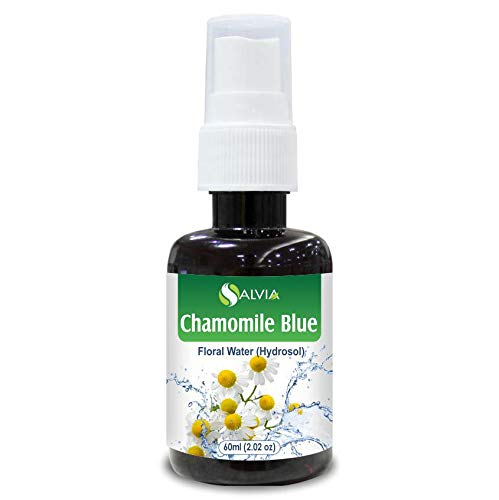 Chamomile Oil, Blue Floral Water 60ml (Hydrosol) 100% Pure And Natural Blue Floral Natural