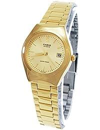 Casio LTP-1170N-9A - Reloj analógico de cuarzo para mujer, correa de acero inoxidable color dorado