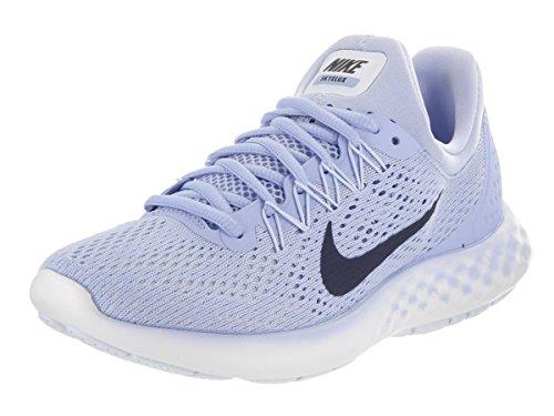 Nike Wmns Lunar Skyelux, Scarpe Running Donna Blu (Aluminium/bleu Moyen/bleu Binaire)