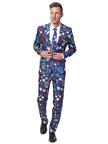 Vegas Kostüm Party - Casino Slot Machine Anzug Suitmeister