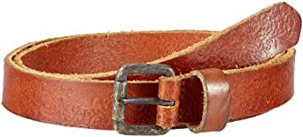 JACK & JONES VINTAGE Herren Gürtel 12072071 FEAR BELT NARROW, Gr. 85, Braun (LEATHER COGNAC)