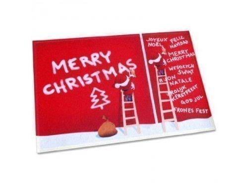 Pfiffig-Wohnen Die witzige Fußmatte - Frohe Weihnachten/Frohes Fest