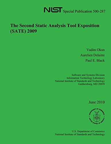 The Second Static Analysis Took Exposition 2009 por U. S. Department of Commerce