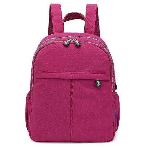 Neue Winter Wilde koreanische Mode Flut Persönlichkeit lässig Damen Rucksack große Kapazität Studententasche Traube lila -