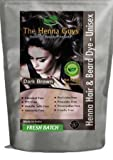 2 Packs of Dark Brown Henna Hair and Beard Color / Dye 150 Grams - Chemical Free Hair Color - The Henna Guys