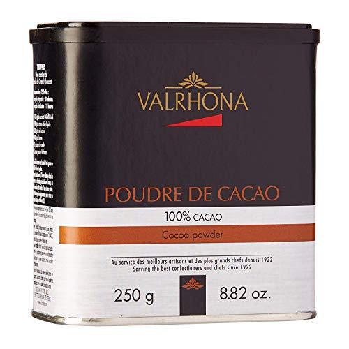 VALRHONA - 100{5d8cfb1d40bf72a2a99f7035dcc86af262e564add0b53a1319b75ebd004c6608} KAKAOPULVER - 250G