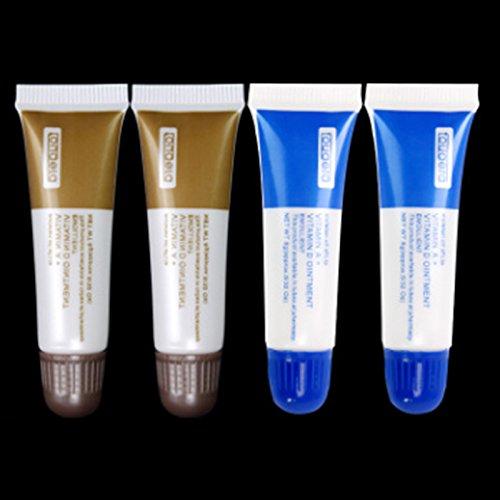 Zantec Narbe Reparatur Creme, AD Salbe gestickte Augenbrauen Lippen Tätowierungs Wiederherstellungs Gel, Tätowierungs heilendes Gel gesund für Haut, gelegentliche Farbe (Gestickt Gel)