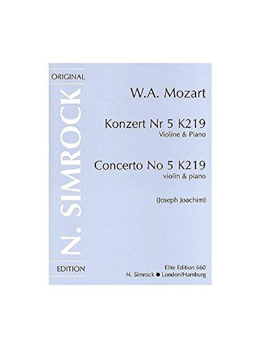 Mozart: Violin Concerto No. 5 in A Major K.219 (0.219)