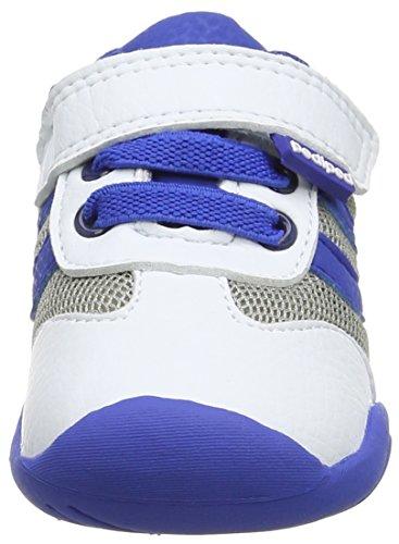 pediped Cliff, Chaussures de Running Compétition Garçon White (White Blue)