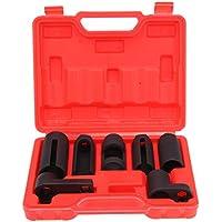 Ridgeyard 7 pezzi Set di chiavi sensore ossigeno presa l'invio di strumento chiave olio interruttore termico