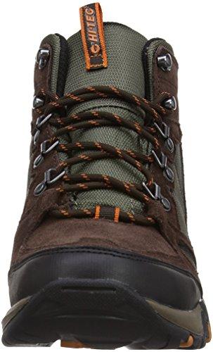 Hi-Tec - Scarpe sportive, Uomo Marrone (Braun (Dark Chocolate/Dark Taupe/Burnt Orange))