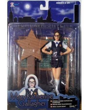 Molly Shannon as Mary Katherine Gallagher Action Figure - Saturday Night Live SNL 25th Anniversary Collection by X-Toys, Inc.