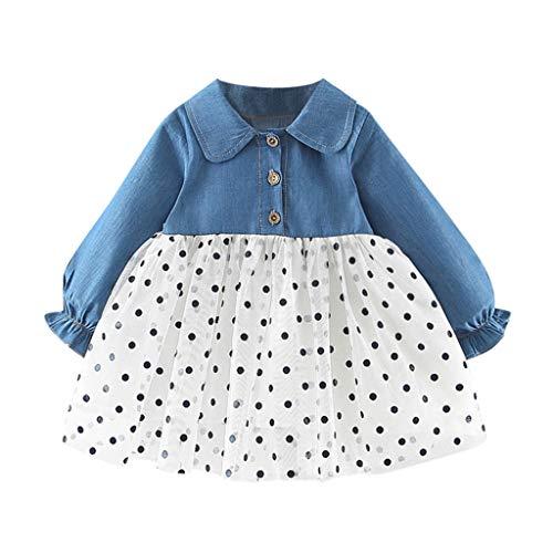 Cuteelf Warme Jackenwinterpullover-warme Hemdkleidung des weiblichen Baby LangarmprinzessinTupfenstrickjacken Klein kindkinder Baby Jungen Sweat Shirt Buch staben mantels