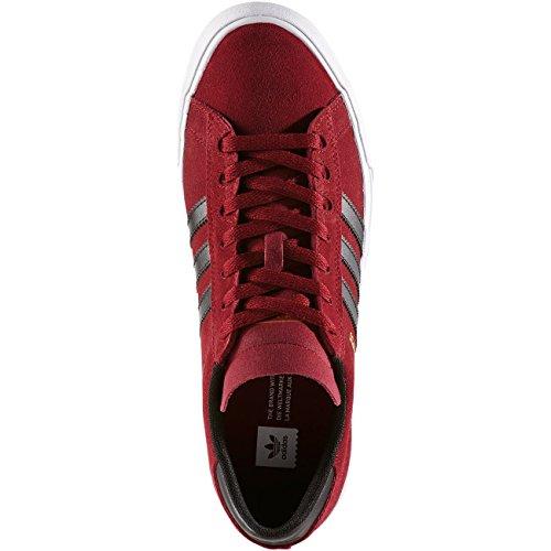 adidas Campus Vulc II, Scarpe da Skate Uomo Rosso (Buruni/Negbas/Ftwbla)