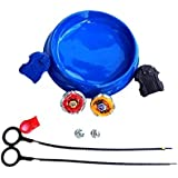 Civil 2 In 1 Beyblades Metal Fighter Fury With Metal Fight Ring Stadium