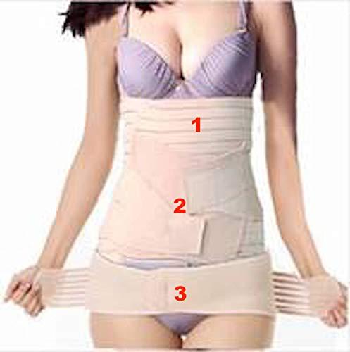 3 in 1 Postpartum Gürtel Support Recovery Gürtel Body Shaper, Einheitsgröße für die meisten Damen -