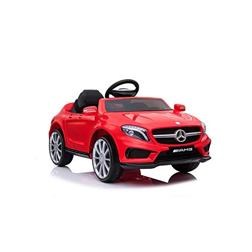 ATAA Mercedes GLA Coche eléctrico para niños batería 12v con Mando Padres teledirigido - Rojo