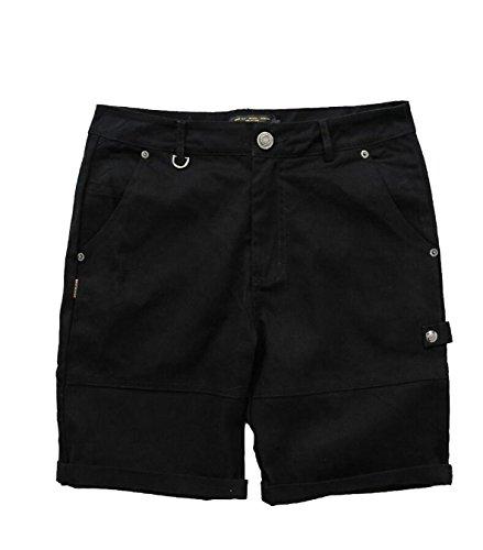 Gocgt Men Cargo Casual Outwear Army Loose Multiple Pockets Short