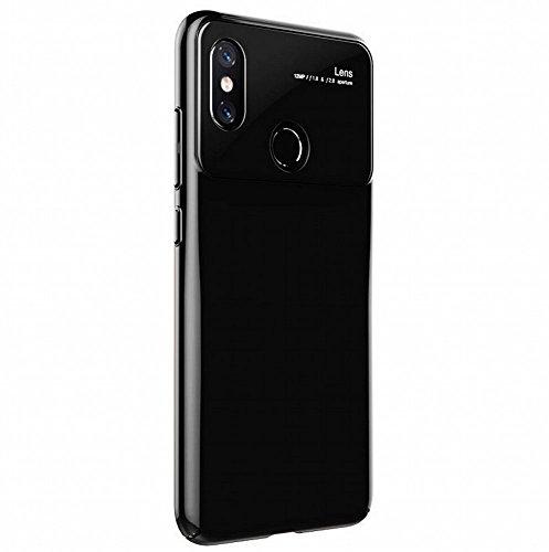 Xiaomi Mi 8 Case، Voigeer [Non-Slip] [Soft TPU Interior] [Durable PC Exterior] حالة وقائية كاملة واقية لحالة واقية ، وحالة مقاومة الصدمات طبقة مزدوجة ل Xiaomi Mi 8 (أسود)