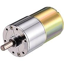 CD24V 20RPM Marcha Caja Motor Velocidad Reducción Eléctrico Reductor Central Salida Eje