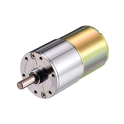 Aexit DC 12V 5 RPM Micro-Getriebe-Motor Geschwindigkeitsreduzierung Antriebswelle