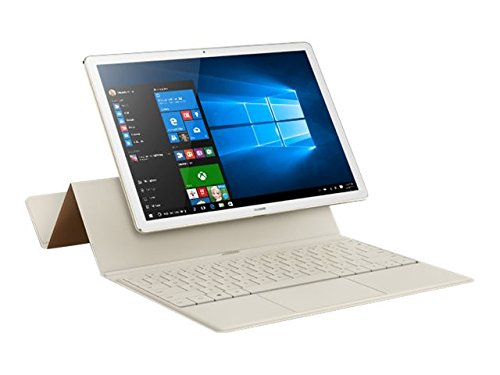 "Huawei Matebook - Ordenador portátil convertible de 12"" 2K IPS (Intel Core M3, 4 GB RAM, 128 GB SSD, Windows 10 Home), color Dorado - Teclado QWERTY español"