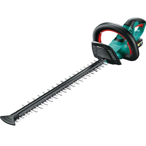 Bosch AHS 50-20 LI Cordless Hedge Cutter with 18 V Lithium-Ion Battery, 500 mm Blade Length, 20 mm Tooth Opening Test