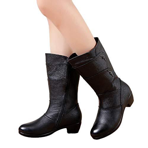TianWlio Schuhe Stiefel Stiefeletten Boots Damen Chelsea Boots Laufschuhe Hohe Stiefel Schnürer Sportschuhe Sneaker Kurzschaft Waterproof Stiefel Desert Boots Halbschaft Schnürstiefel Combat Boots