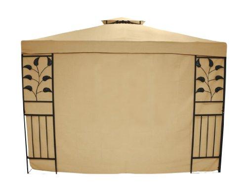 greemotion Seitenwand Livorno ohne Fenster im zweier Set beige, Seitenteile aus strapazierfähigem...