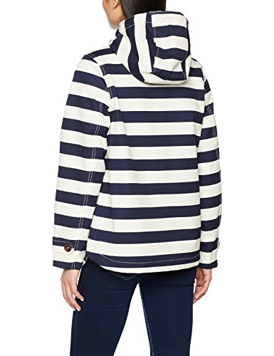 Joules Coast, Manteau Femme Blau (French Navy Stripe Fnavstp)