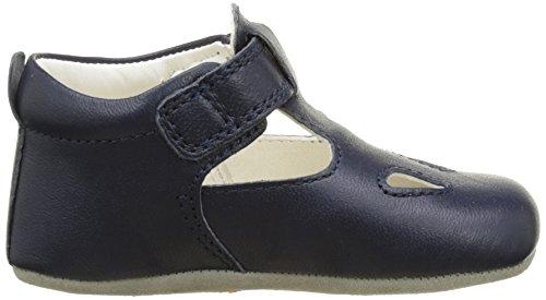 Geox B New Ian B, Chaussures de Naissance Bébé Garçon Bleu (Navyc4002)