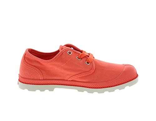 Palladium Pampa Oxford Lp, Bottes Classiques Cheville Femme Ember Glow Silver Birch