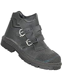 Zapatos de Seguridad Jallatte Jalmayon SAS S3 HRO SRC Zapatos de Negro B-Stock Trabajan