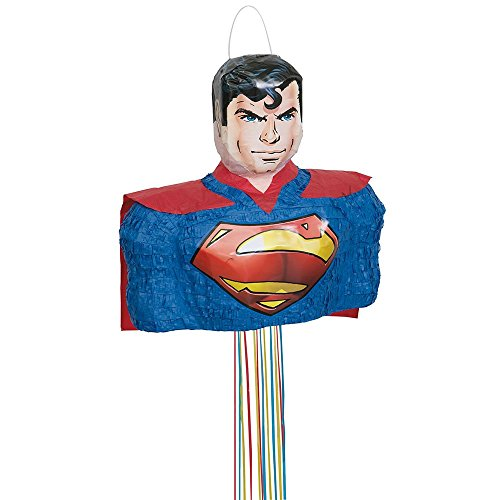 s Superman-Pinata Einheitsgröße (Superman Party Supplies)