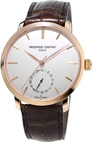 Frederique Constant Geneve SLIMLINE MANUFACTURE FC-710V4S4 Orologio automatico uomo Calibro di manifattura