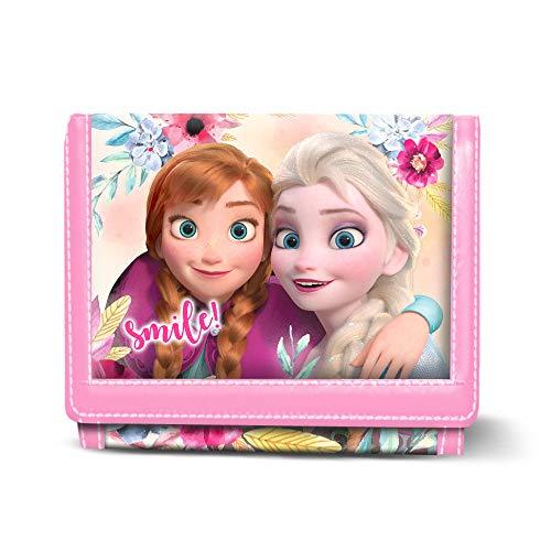 Karactermania Die Eiskönigin (Frozen) Smile-Geldbörse Münzbörse, 12 cm, Mehrfarbig
