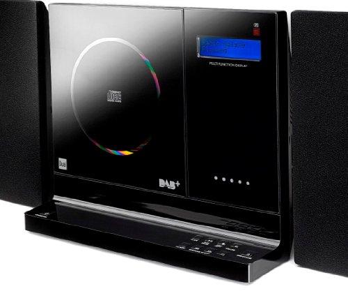 Dual Vertical DAB 101 Kompaktanlage Digitalradio mit CD-Player - 2