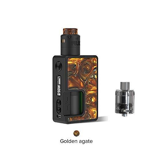 Vandy Vape Pulse X Kit Sonderausgabe, E Zigarette Squonk Kit Kein Nikotin und Tabak (Goldener Achat) -
