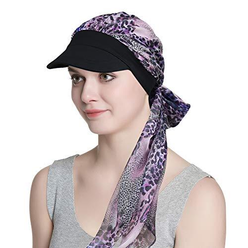 Alnorm Newsboy Cap für Mädchen Chemohüte für Haarausfall Krebsgeschenke