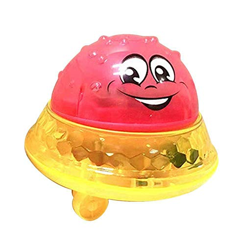 Drawoz Bath Toy Light Cute Infant Children Electric Induction Sprinkler Toy Light Play Bath Water Toys -