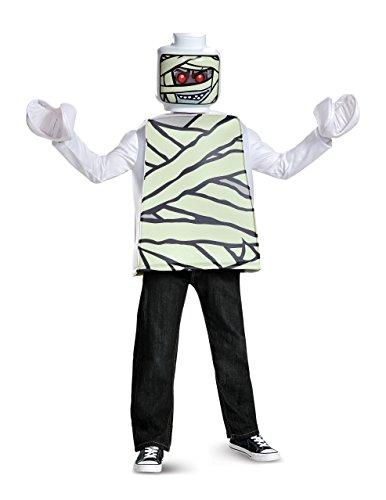 LEGO Disfraz clásico de momia (talla S, de 4 a 6 años)