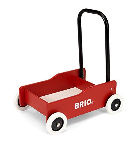 Brio 31373–Andador con Frenos, Color Rojo