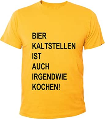 mister merchandise cooles herren t shirt bier kaltstellen. Black Bedroom Furniture Sets. Home Design Ideas