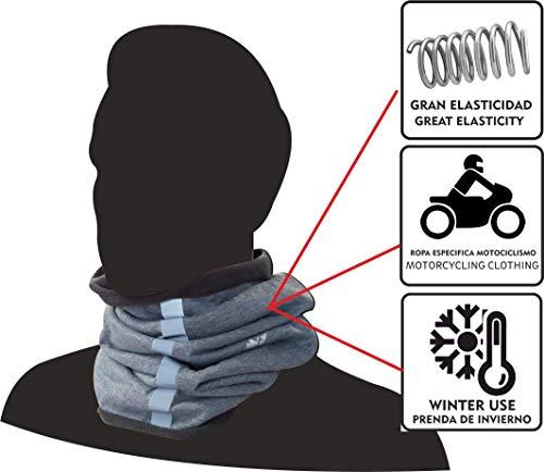 per andare in moto Taglia unica. corsa e sport in generale bici Confezione tre unit/à scaldacollo riflettenti EKEKO ALTA VISIBILIT/À Colori fluorescenti e con fascia riflettente