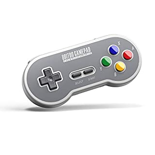 8Bitdo SF30 2.4G Wireless Controller for SFC Classic Edition (Electronic Games) (B074HBQ78V) | Amazon Products