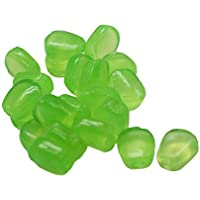 VANKER 50pcs / suave de la simulación artificial de maíz sabor de la carpa Bream cebos señuelos de pesca - Verde