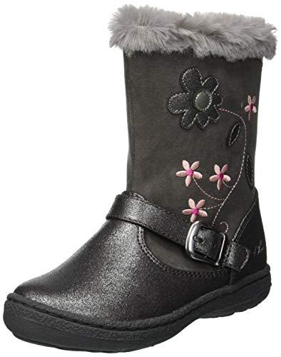 Chicco Baby Mädchen Colomba Hohe Stiefel, Silber (Acciaio 080), 25 EU